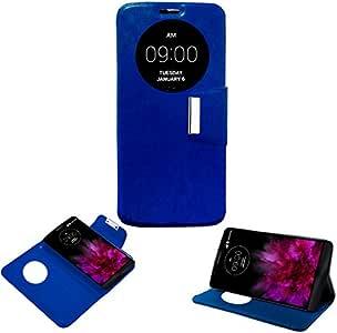 Donkeyphone - Flip Cover Azul para LG G Flex 2 H950 H955