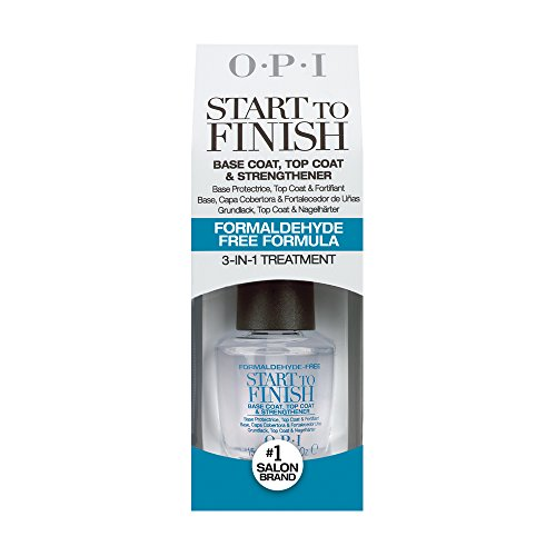 OPI Nail Lacquer Treatment, Start-to-Finish Formaldehyde-Free