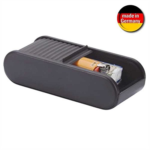 Smart Planet® alta calidad Auto estante Box–Autoadhesivo–con cierre persiana–Tamaño: 45x 72x 168mm para Coche/Escritorio...–Negro Smart-Planet