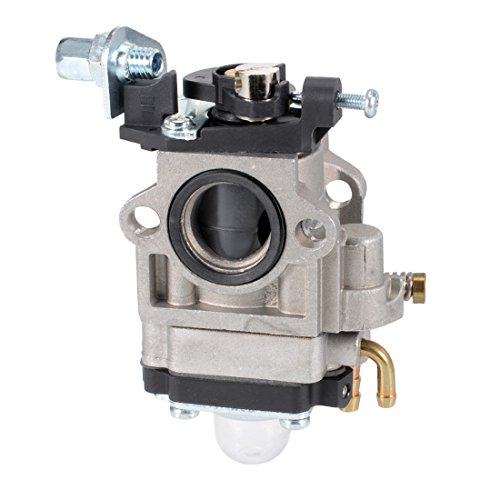 (uxcell New Carburetor Carb for 43cc 49cc 2 Stroke Engines 15mm Intake Hole Mini Quad Gas Scooter X1 X2 X3)