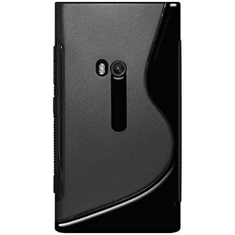 Amzer AMZ95153 Dual Tone TPU Hybrid Skin Fit Case Cover for Nokia Lumia 920 - 1 Pack - Retail Packaging - (Cover Case Nokia Lumia 920)