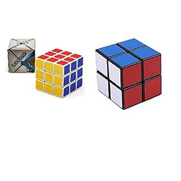 Zauberartikel & -tricks 2er Set Magic Cube Zauberwürfel 2x2 3x3 Spielwürfel Puzzle