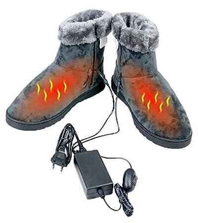 ObboMed® MF-2620L, 12V, 20W, Karbonfaser beheizbare Schuhe (L: bis Schuhgröße 45.5), Heizschuhe, Infrarot Schuhe, Fußwärmer,
