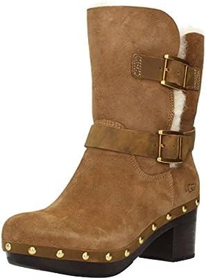 93501e17874 UGG Women's Brea Chestnut Boot 9 B (M): Amazon.com