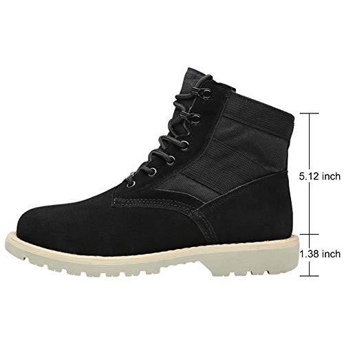 Bottes Noir Montantes 2 Baskets Courtes Chaussures Hommes PADGENE Sécurité Bottines Bouts de HIAICq