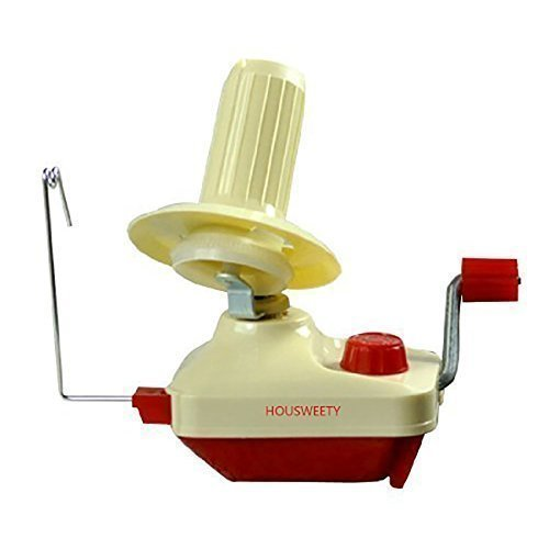 Housweety Yarn/fiber/wool/string Ball Winder Hand-operated by HOUSWEETY (Image #5)