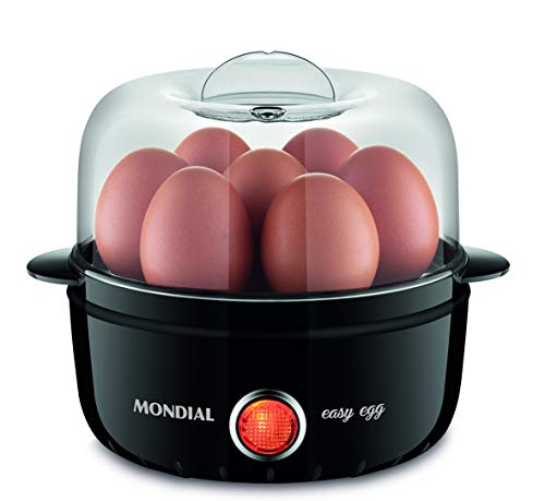 EG-01 - Steam Cook Easy Egg 127V - Mondial, MK Mondial Eletrodomesticos, Steam Cook Easy Egg 6830-01, Preto