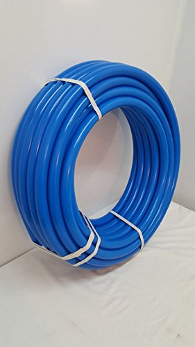 250' 1 1/4'' Non Oxygen Barrier Blue PEX tubing for heating and plumbing by Badgerpipe