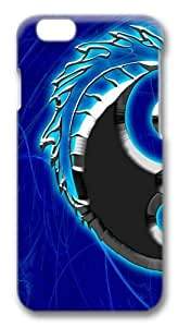 Dragon Yin Yang7 Custom ipod touch4 inch Case Cover Polycarbonate 3D