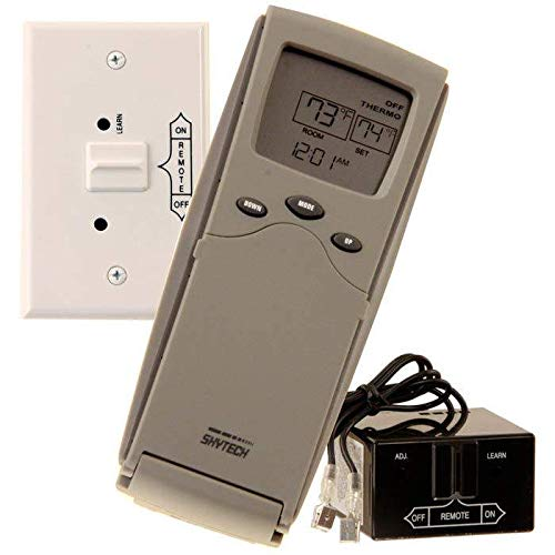 SkyTech 3301P Programmable Fireplace Remote Control ()