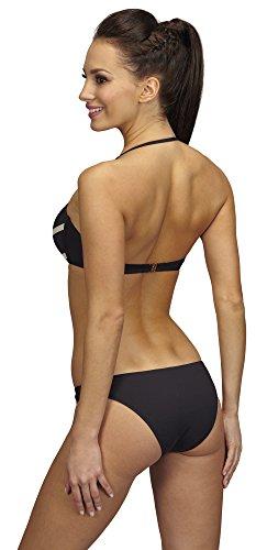SHE Conjuntos de Bikinis para Mujer Gloria Negro (304)