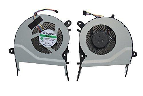 New CPU Cooling Fan for ASUS X555 X555LA X555L MF60070V1-C370-S9A