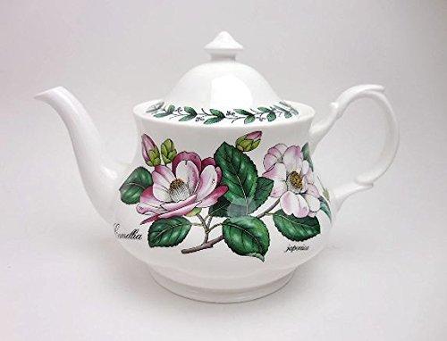 Roy Kirkham Floral Teapot Fine Bone China England