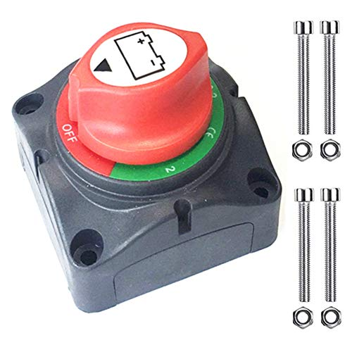 C Type 1pcs Batteries & Accessories Qiorange Car Battery Isolator Cut Off Switch 12v 24v Max 500A Battery Switches