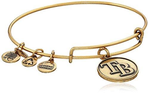 Bracelet Bay Rays Tampa - Alex and Ani Tampa Bay Rays Cap Logo Expandable Rafaelian Gold Bangle Bracelet