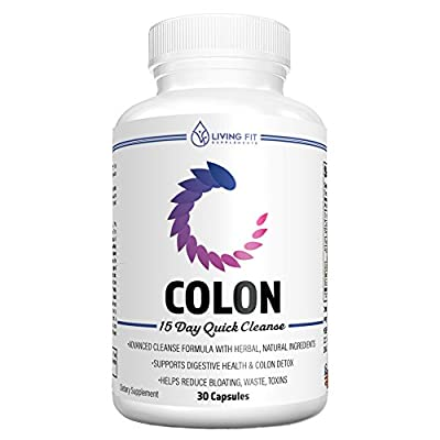 Living Fit Colon Cleanse: 15 Day Quick Cleanse to Support Weight Loss, Detox & Increased Energy Levels