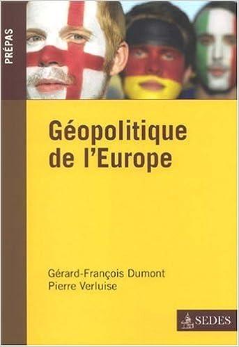 Lire un Géopolitique de l'Europe pdf, epub