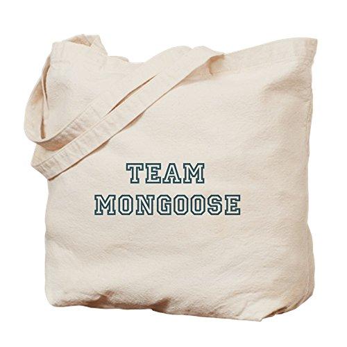 CafePress–Team Mongoose–Leinwand Natur Tasche, Reinigungstuch Einkaufstasche Tote S khaki
