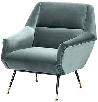 Casa-Padrino sillón de salón de Lujo Turquesa Oscuro/Negro ...