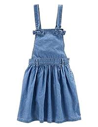 Carter's Little Girls Denim Overall Dress/Jumper