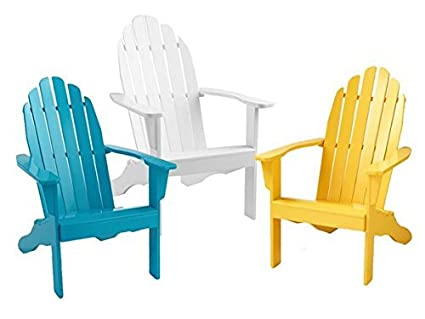 Groovy Amazon Com Cool Living Adirondack Chair White Garden Gamerscity Chair Design For Home Gamerscityorg