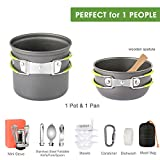 G4Free 2/4/13 PCS Camping Cookware Mess Kit Hiking
