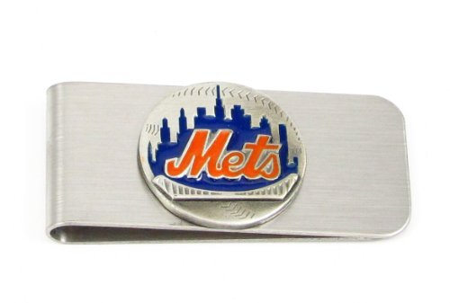 Siskiyou MLB New York Mets Steel Money Clip