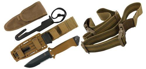 Gerber 22-01400 LMF II Survival Knife – Coyote Brown, Outdoor Stuffs