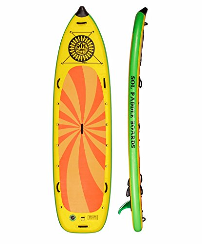 SOL Paddle Boards SOLsumo SUP 11'4'' Inflatable by Sol Paddle