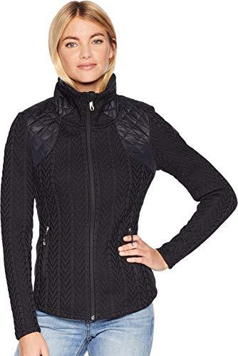 - Spyder Women's Lolo Stryke Jacket, Black/Black/Black, Small