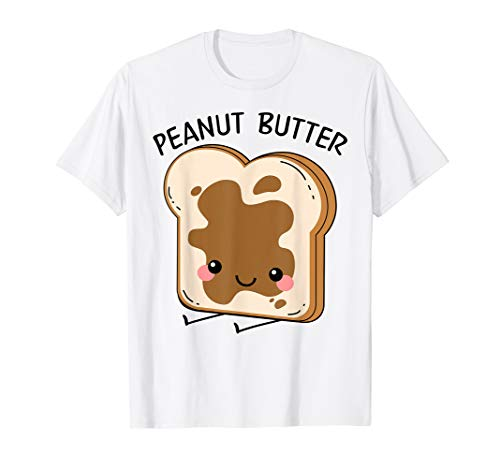 Peanut Butter Matching Halloween Costume Set DIY Jelly Shirt -