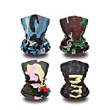 Kids Neck Gaiter Kids Summer Face Covering for