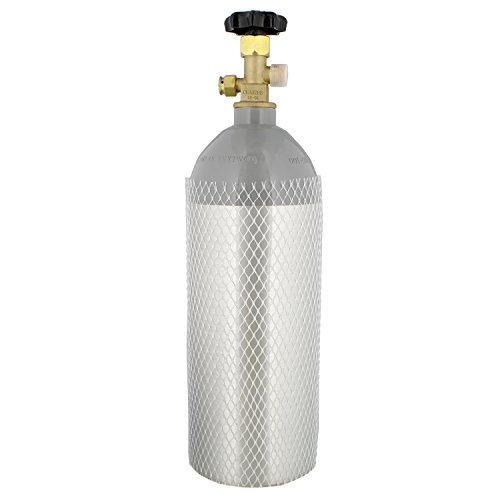 G Francis Aluminum CO2 Tank CO2 Cylinder 5lb CO2 Tank & Valv