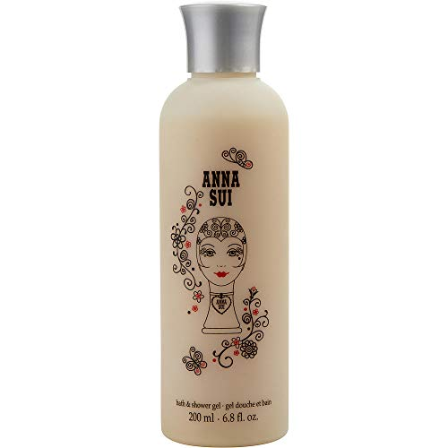 DOLLY GIRL OOH LA LOVE by Anna Sui SHOWER GEL 6.7 OZ for WOMEN -(Package Of 4) ()