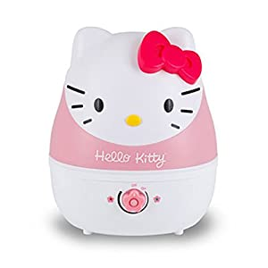 Crane USA Humidifiers - Hello Kitty Adorable Ultrasonic Cool Mist Humidifier - 1 Gallon Adjustable Mist Output, Automatic Shut-off, Whisper-Quiet Operation for Home Bedroom Office Kids & Baby Nursery