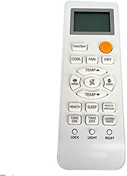 Replacement Remote Control for TV/AV/AC New Original Replacement for Haier Air Conditioner Remote Control 0010401715BW V9014557 G85 - - Amazon.com