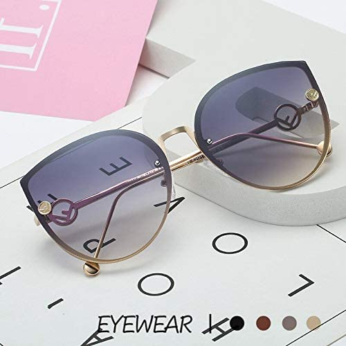Cat Eye Occhiali da Sole Donna Uomo Moda Occhiali da Sole Brand Design Donna Oceani Occhiali da Sole Lenti Trasparenti Occhiali da Vista sfumati UV400 2
