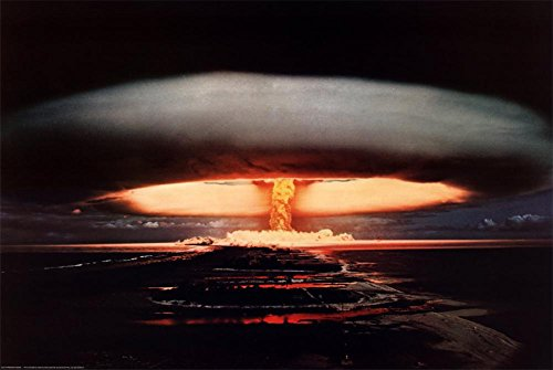 Hydrogen Bomb Poster 36 x 24in