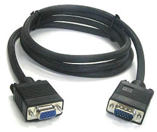 BattleBorn 100' Ft SVGA VGA Monitor Video PC 100 Foot Extension Cable M/F - Male to Female ()