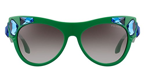 (PRADA VOICE 22Q Green Water Blue SMP-0A7 PR22QS Limited Edition)