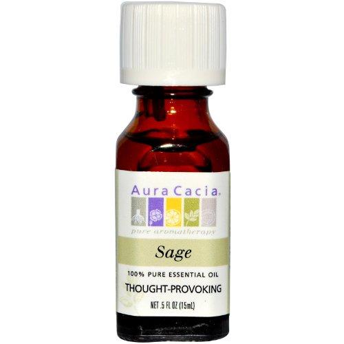 Aura Cacia Massager - Aura Cacia Essential Oil Sage -- 0.5 fl oz