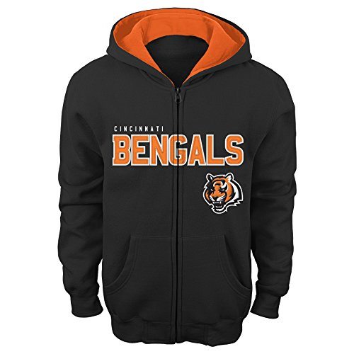 Cincinnati Bengals Full Zip Fleece - 7