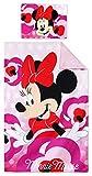 Disney Minnie Baby Toddler Duvet Cover Set Cotton 140 x 90 cm Pillowcase 40 x 55 cm