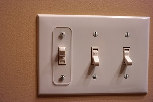 Toggle Switch Light Switch Locks , Child-Safe, Residential, Lighting