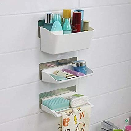 Srxes Bathroom Cosmetic Organizer/Bathroom Accessories Shelves ...