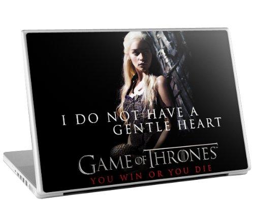 Zing Revolution Game of Thrones Premium Vinyl Adhesive Skin for 15-Inch Laptops, Daenerys (MS-GOT220011)
