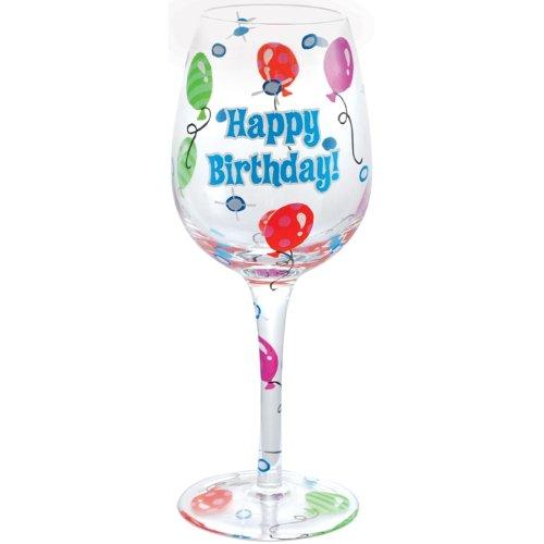 happy birthday wine glass Amazon.| Westland Giftware 9 Inch Happy Birthday! Wine Glass  happy birthday wine glass