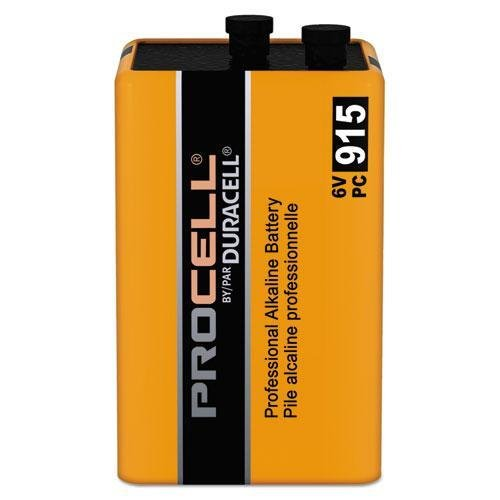 Duracell PC915 Procell Lantern Battery, 6 Volt, Screw Terminals
