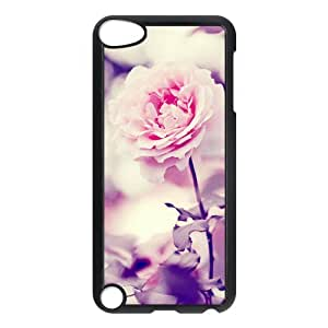 Custom Vintage Pink Flower Unique Apple Ipod Touch 5th Hard Case Cover
