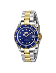 Invicta Men's Mako Swiss Automatic Pro Diver 9938 Gold Tone Stainles-Steel Automatic Watch with Blue Dial